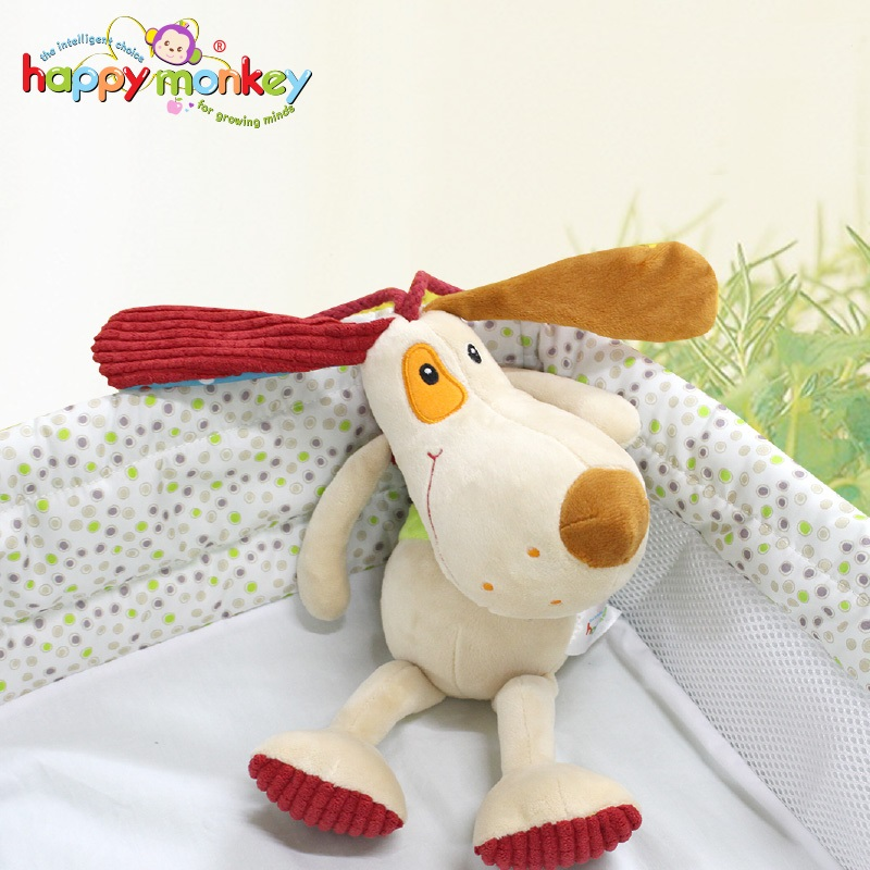 Appease Sleep Aid Baby Music Bell 0-3 Year Old Baby Plush Toy Baby Animals Dog Soothe Do ...