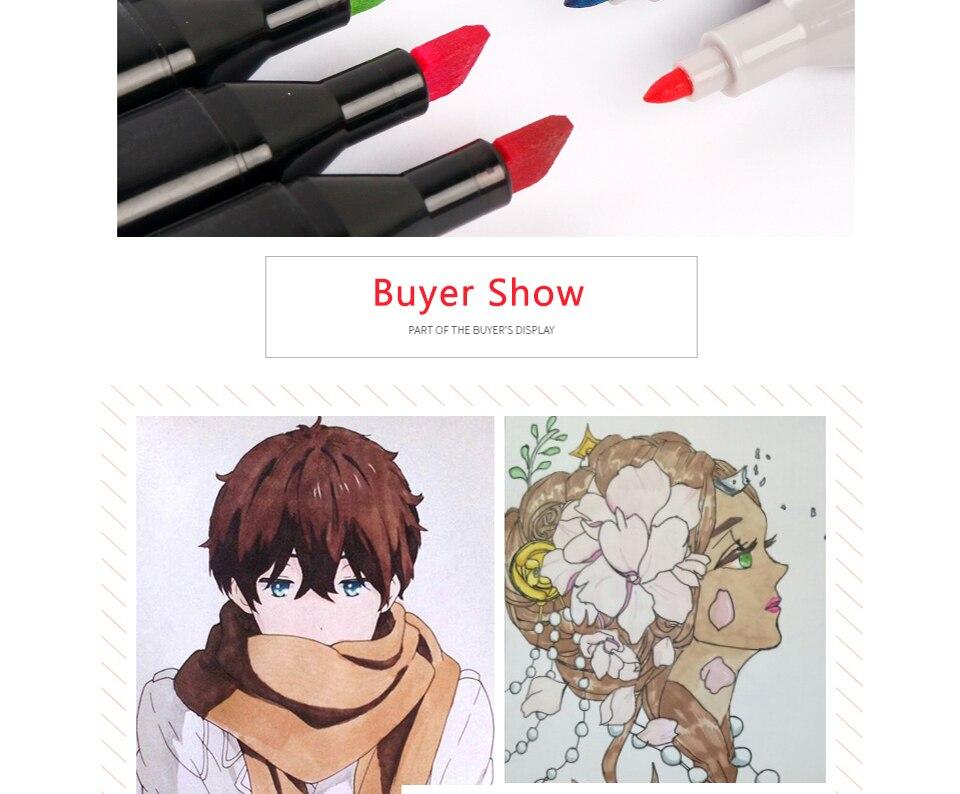 Marcadores da arte