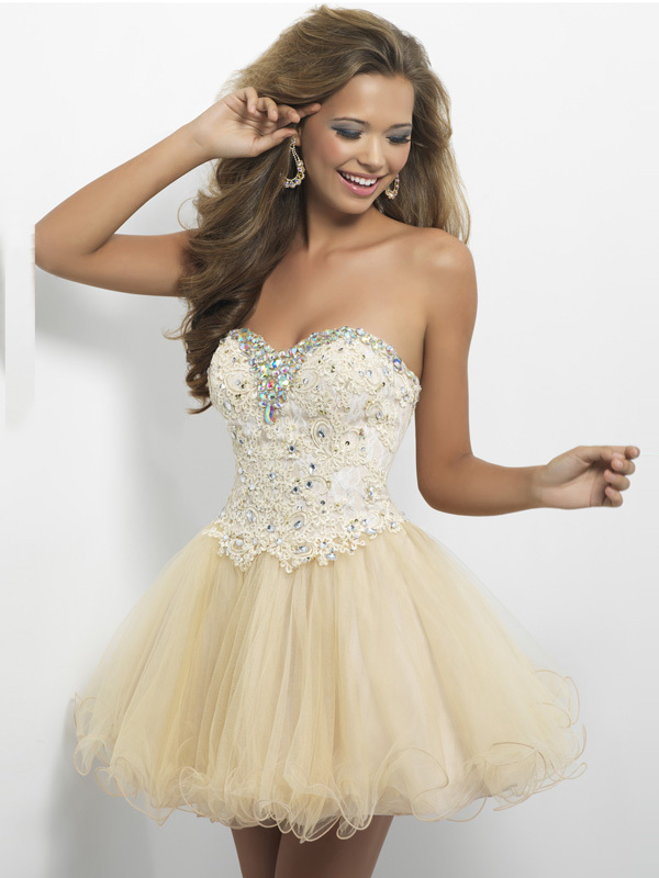 Vestido de festa Sweetheart A-Line 2014 Hot Sale A...