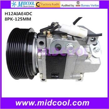 HIGH QUALITY AUTO AC COMPRESSOR FOR MAZDA  H12AIAE4DC  8PK-125MM