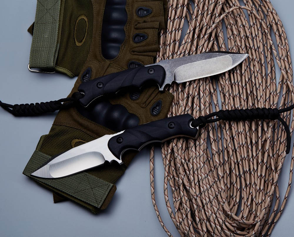 BGT M3 Tactical Fixed Blade Straight Knife With D2 Blade Full Tang - Handgereedschap - Foto 5