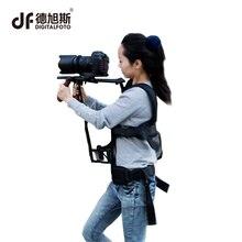 DIGITALFOTO professional câmera DSLR steadicam estabilizador steady video camcorder apoio colete rigs ombro para o cinema-fazer