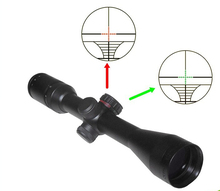 Hunting Tactical Red&Green Dot Sight Scope 3-9X40EG Zoom optical hunting riflescope with mounts