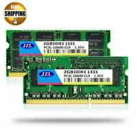 JZL 1.35 V A Bassa Tensione Memoria Ram DDR3L 1333 Mhz PC3-2 GB/DDR3 SDRAM PC3 10600 1333 Mhz Per Il Computer Portatile Notebook Sodimm memoria
