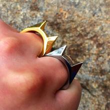 Выключатель палец Леди оружие окно кольцо борьба боевой выживания для женщин EDC инструмент Самообороны защиты Открытый аварийный