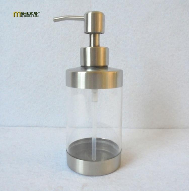 1pc Longming Home kitchen hand foaming liquid soap dispenser pump bottle sanitizer shampoo lotion container bathroom ke 1487