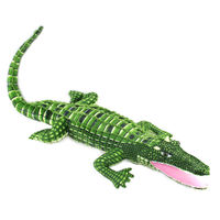 Free Shipping Wholesale Retail105cm Crocodile Plush Stuffed Animal Doll Toy Pillow Cushion Novel Gift Children S