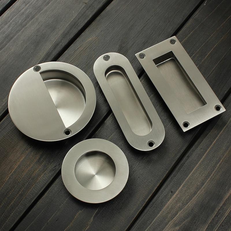 Hot Stainless Steel Door Handle Flush Recessed Pull
