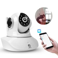 Jooan HD Wifi Wireless Home Security IP Camera Security Network CCTV Surveillance Camera IR Night Vision