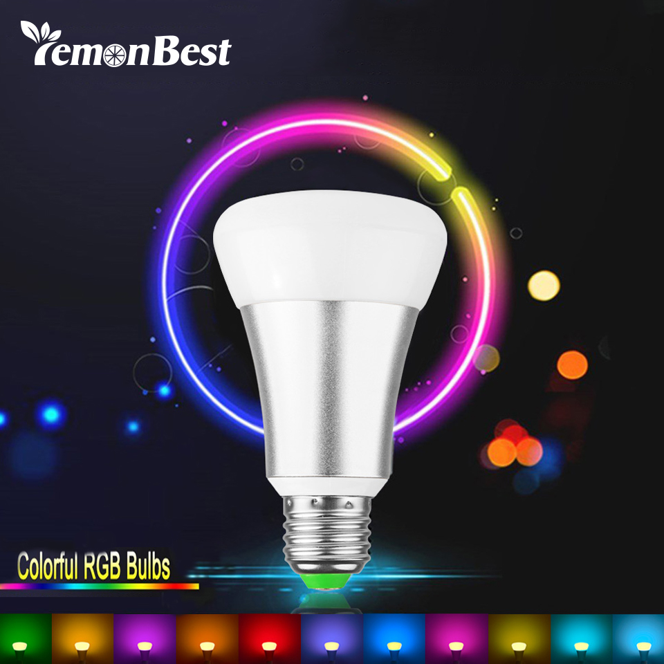 buy 10w e27 rgb led bulb stage lamp 12 colors with remote control led light. Black Bedroom Furniture Sets. Home Design Ideas