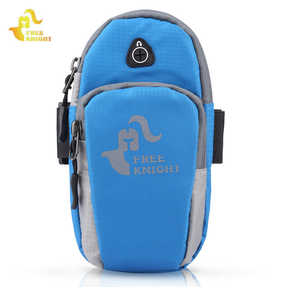 Free Knight Outdoor Sport Running Bag Jogging Arm Bag Phone Pouch Holder Workout Gym Fitness Wrist Bag For IPhone X 12 Colors