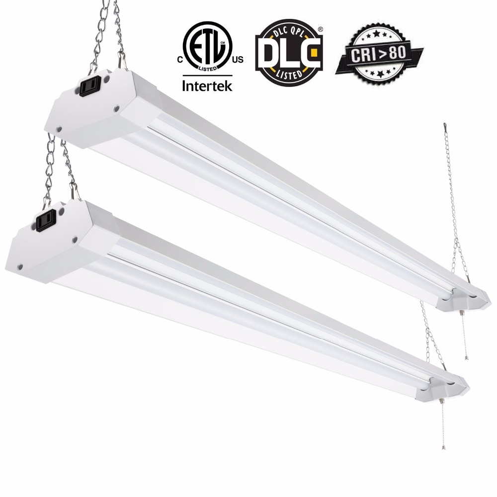 Kohree Linkable Double Fixture Ceiling Light Utility LED
