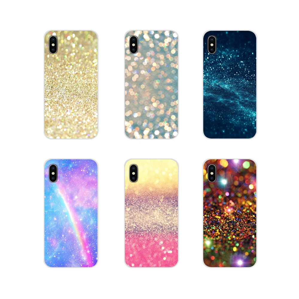 For HTC One U11 U12 X9 M7 M8 A9 M9 M10 E9 Plus Desire 630 530 626 628 816 820 830 Pastel Sparkle Accessories Phone Cases Covers
