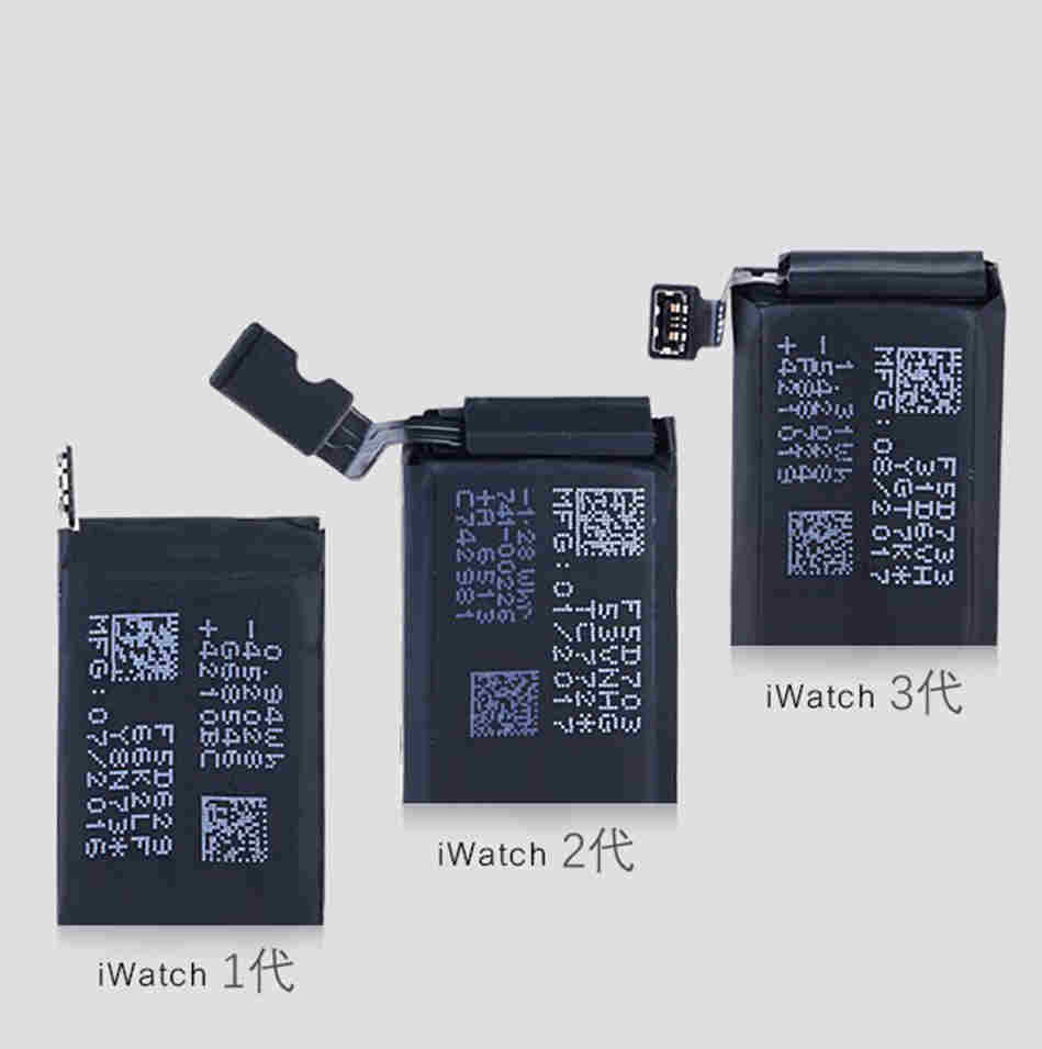 5pcs/Lot Battery for Apple watch series1 series 2 3 forAPPLE  original battery Replacement