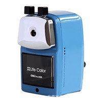 Hot Selling Deli 0620 Full Metal Shell Pencil Machine Hand Pencil Sharpener High Quality Includes Metal