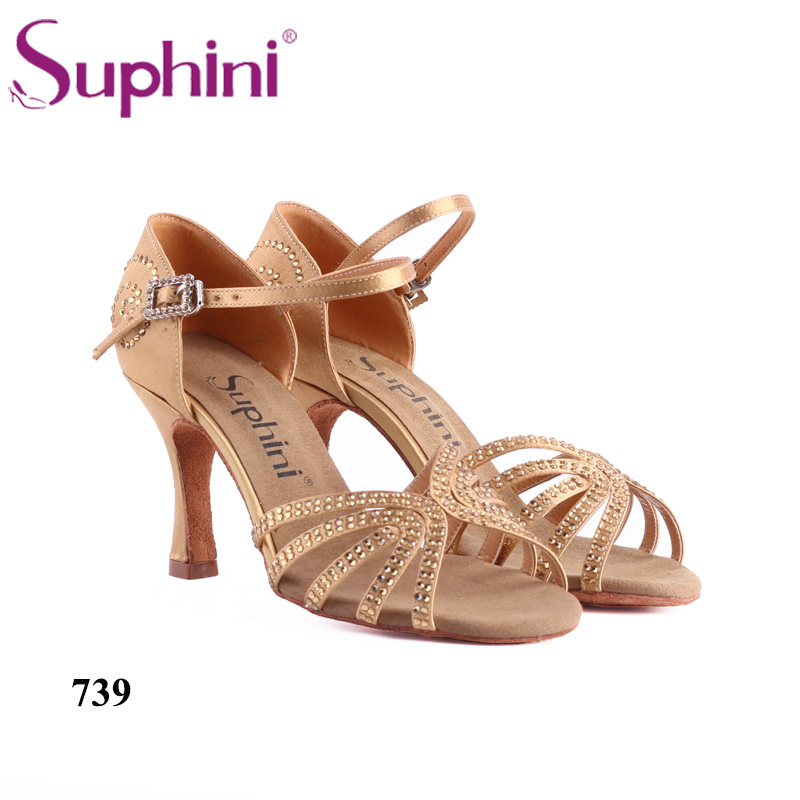 Free Shipping Suphini 739 Woman Dance Shoes zapato de baile latino para mujer Genuine Leather Soles Latin Dance ShoesFree Shipping Suphini 739 Woman Dance Shoes zapato de baile latino para mujer Genuine Leather Soles Latin Dance Shoes