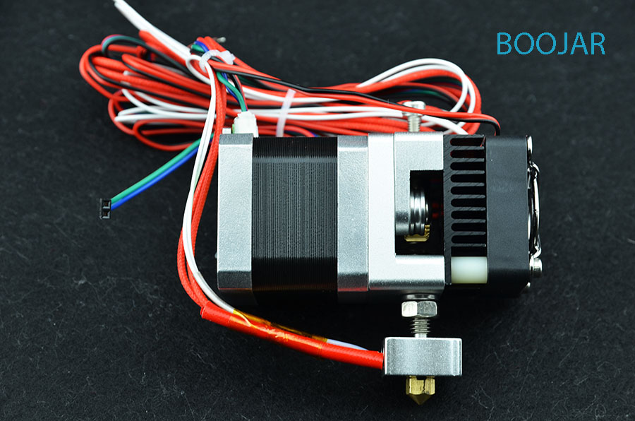Printer parts Prusa i3 extruder MK8 kit High quality for Printer 3D Makerbot 1.75/0.4mm Printhead Hot sale Free shippingPrinter parts Prusa i3 extruder MK8 kit High quality for Printer 3D Makerbot 1.75/0.4mm Printhead Hot sale Free shipping