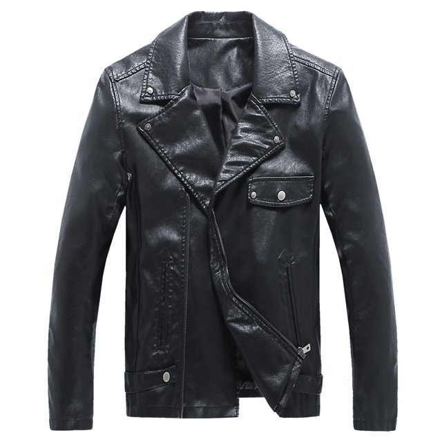 New Style Oversized Leather Jacket Men Famous Brand Motorcycle Jacket High Quality Cheap Leather Coats 5XL Jaqueta Motoqueiro