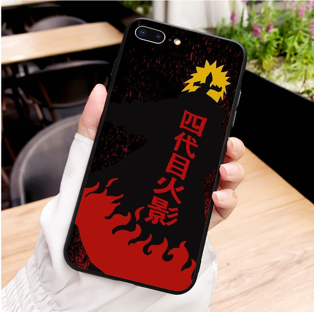 Naruto Soft Silicone Phone Cover Case for iPhone