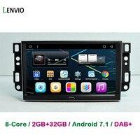 Lenvio 9 ips ram 2 Гб + 32 ГБ Octa Core Android 7,1 Автомобильный gps dvd плеер для Chevrolet Epica Captiva Lova 2006 2011 Aveo Optra Spark