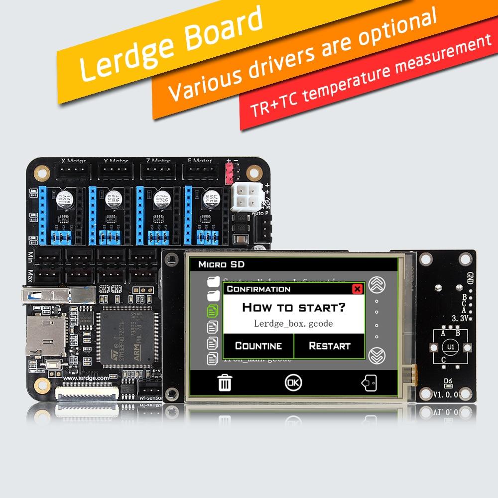 LERDGE 3D Printer Controller Board for Reprap 3d printer
