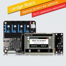 """LERDGE Imprimante 3D Carte Contrôleur pour Reprap 3d imprimante carte mère avec BRAS 32Bit Carte Mère contrôle avec 3.5 """"TFT Écran Tactile"""