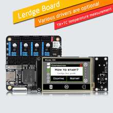 LERDGE 3D Printer Controller Board for Reprap 3d printer motherboard with ARM 32Bit Mainboard control with 3.5″ TFT Touch Screen