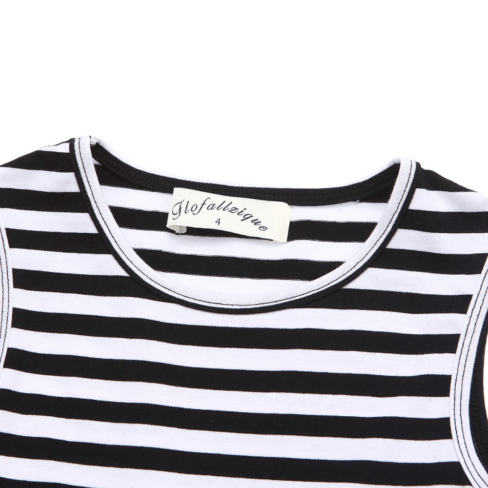 HTB1K73WQVXXXXXcXFXXq6xXFXXXM - Baby Girls Dress 2017 Summer Casual Striped Princess Dresses sleeveless Black and White Stripes Mesh Dress Children Clothing