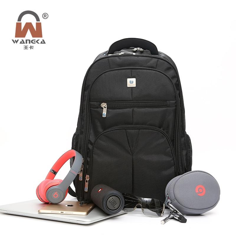 New Men's 15.6 inch Black laptop backpack School Bag business Travel Leisure Waterproof Large Capacity college bags for women xiaomi 90fun brand leisure daypack business waterproof backpack 14 laptop commute college school travel trip grey