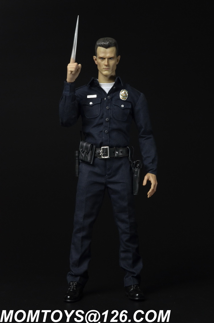 1/6 scale Collectible figure doll The Terminator T1000 12