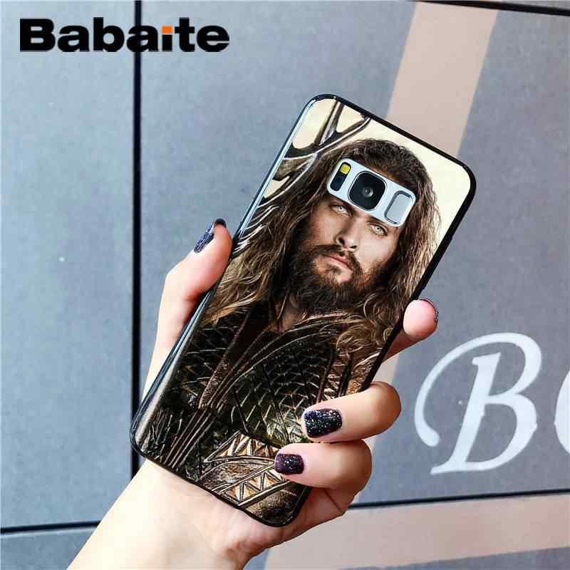 Babaite аквамэн DIY роскошный высококачественный защитный корпус телефона для Samsung Galaxy S8 S7 край S6 edge plus S5 S9 чехол