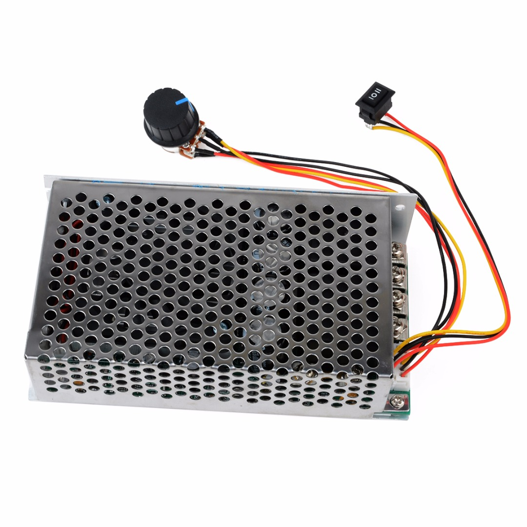 New DC 10-50V 100A 3000W Programable Reversible PWM Control Motor Speed Controller panlongic hand twist grip hall throttle 100a 5000w reversible pwm dc motor speed controller 12v 24v 36v 48v soft start brake