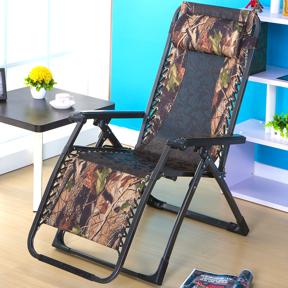 Portable Sun Loungers Outdoor Folding Easy Beach Chair Adjustable  Waterproof Breathable Balcony Soft Leisure Chair Furniture Part 84