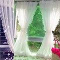 Moderne Spitze Tüll Vorhänge Für Wohnzimmer Schlafzimmer Weiß Schiere Vorhang Für Küche Fenster Dekoration Vorhänge Rideaux Voilage-in Vorhänge aus Heim und Garten bei
