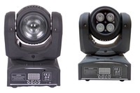 Two Sides 10w Led Beam Light Rgbw 4in1 Led Moving Head Stage Effect Dj Event