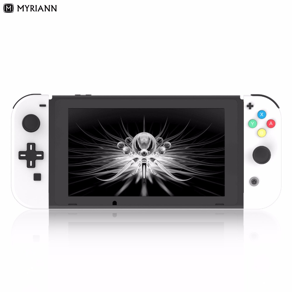 Replacement Housing Shell Cover Case And Hard Shell For Nintend Switch NS Game Console With D-Pad Version (includes The Buttons)