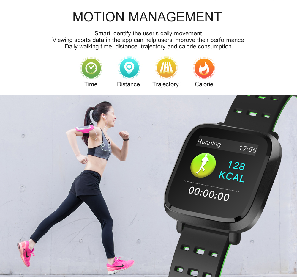 Y8 Smartwatch Wearable Device Bluetooth IP67 Waterproof Pedometer Heart Rate Monitor Color Display Smart Watch For AndroidIOS (8)