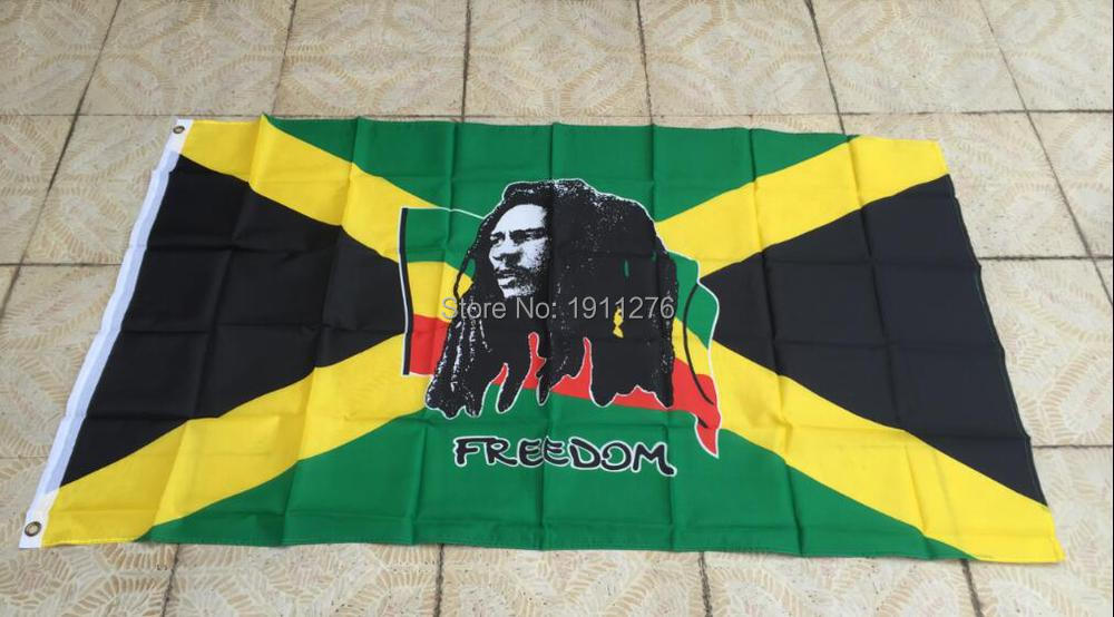 online kaufen gro handel bob marley flagge aus china bob. Black Bedroom Furniture Sets. Home Design Ideas