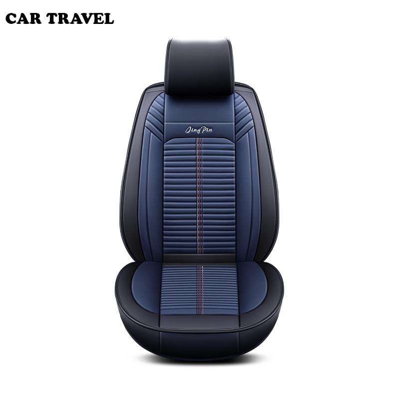Car Seat Cover For Hyundai Elantra Sonata Genesis Accent Avante IONIQ I40 I30 Ix35 Azero Grand-SantaFe Solaris Creta Tucson 2017