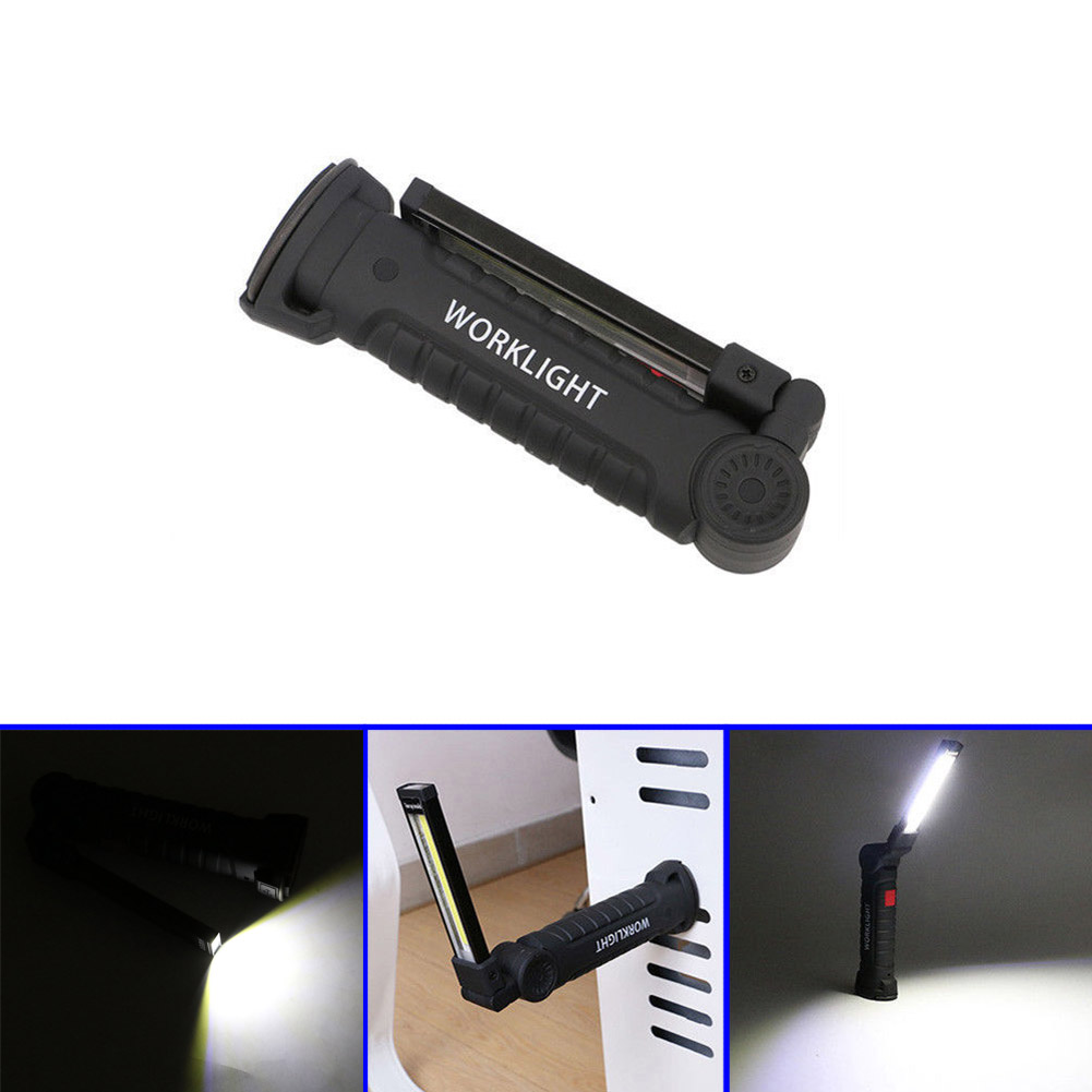 New Car LED Rechargeable Magnetic COB Torch Handheld Inspection Lamp Cordless Worklight Tool CSL2017