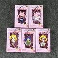 5 unids/set Twinkle Dolly Versión Linda Figura de Acción de Sailor Moon Llavero Colgante Llavero de Anime Japonés Juguetes Regalos