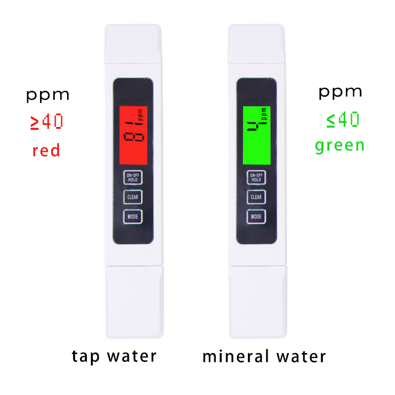 TDS EC Meter Temperature Tester pen 3 In1 Function Conductivity Water Quality Measurement TDS&EC Tester 0-9000ppm 20% off