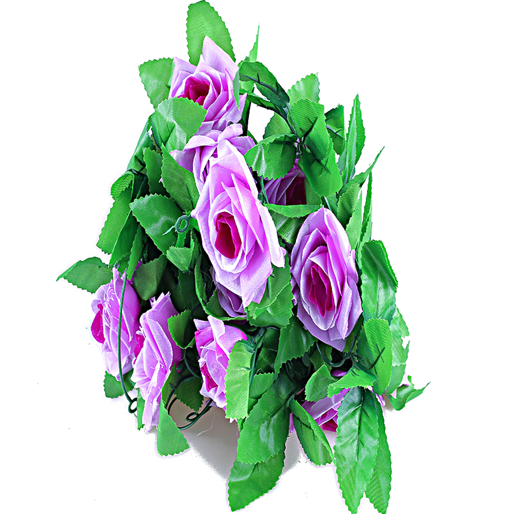 Compare prices on vine plants lots silk flower artificial hanging 1 lot rose flower ivy vine silk decorative flowers hanging garland plant wedding home decor artificial dhlflorist Gallery