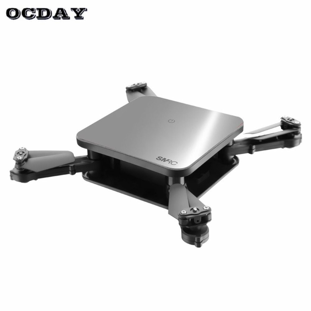 SMRC S1 mini rc drone with hd wifi camera pocket Selfie 2.0MP WiFi FPV Real Time Folding Helicopter for Chrismas toy boy gift ti цена