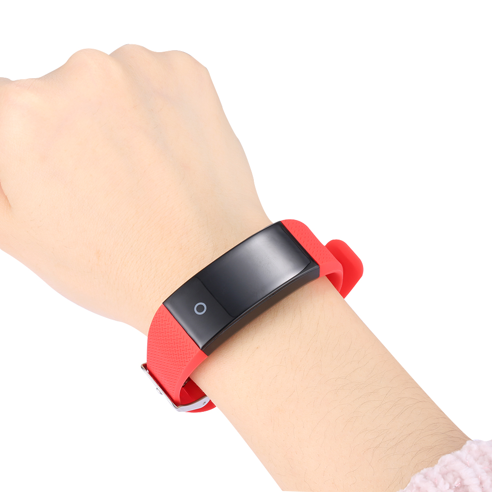 2019 New Arrival QW18 Wearable Devices IP67 Heart Rate Tracker Passometer Sport Color LCD Smart Wristband