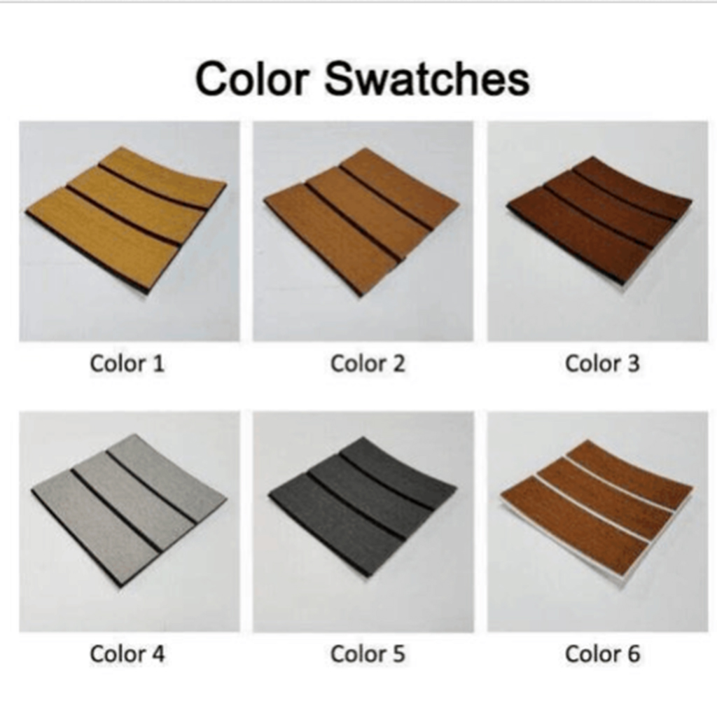 240 X 60 Cm/ 94'x23' Marine Boat Yacht  Floor Protection Sheet Synthetic Teak EVA Foam Decking Sheet Self-Adhesive