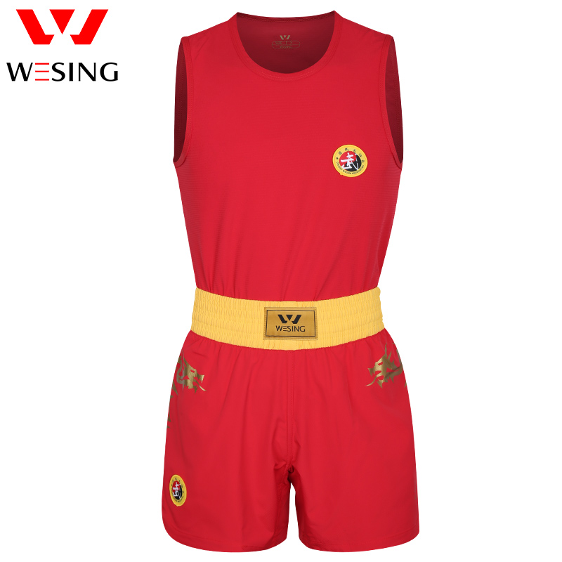 Wesing wushu sanda կոստյում վիշապի տպագիր - Սպորտային հագուստ և աքսեսուարներ - Լուսանկար 5