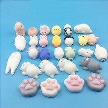 Мини-squishy милый котенок салфетки мяч Squeeze Моти рост игрушки расслабляет мягкий липкий squishiy, игрушка для снятия стресса, забавная игрушка в подарок