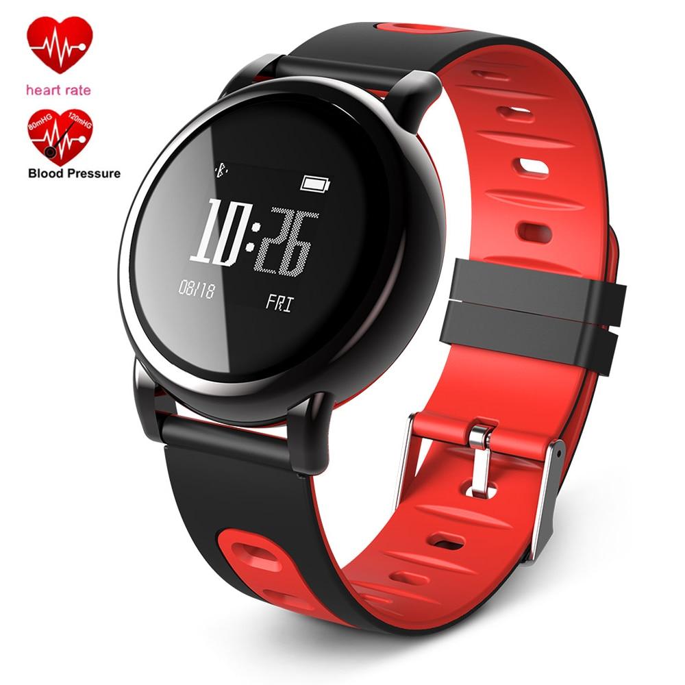 New Smart Watch Men Waterproof Bracelet Watches Women Heart Rate Blood Pressure Monitor B8 Wristwatch GPS Sports Fitness Tracker smart baby watch q60s детские часы с gps голубые