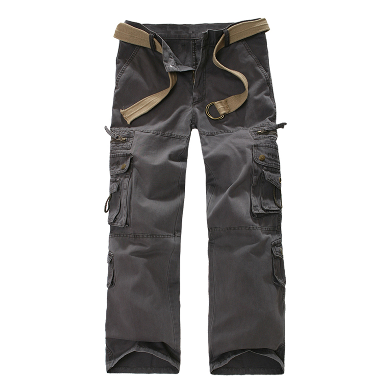 Adult mens tactical pants Cargo casual Pants Combat SWAT Army active Military work Cotton male Trousers mens overalls